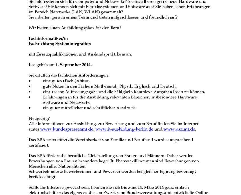 Ausschreibungstext_BPA-Ausb-FISIZ-2014
